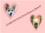 Corgi Valentine gifts