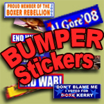 Bumper Stickers, Funny, Political, More