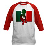 Kokopelli with Mexican flag