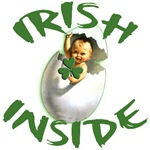 Irish Inside Cute Irish Baby Design