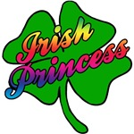 Irish Princess with Rainbow Coloring