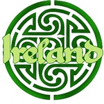 IRELAND with Celtic Knot
