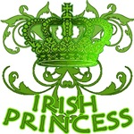 Irish Princess Green Graphic Tee