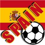 World Soccer SPAIN Team T-shirts