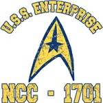 USS Enterprise NCC-1701 Tshirts, Mugs