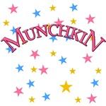 MUNCHKIN in Pink Wizard of Oz Tshirt
