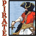 Pirate Art Tshirts and Gifts