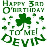 Personalized for Devin's 3rd Birthday