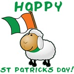 Adorable Irish Sheep St Patricks day