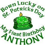Born Lucky Personalized for Anthony