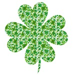 Shamrock Made of Shamrocks