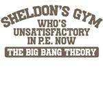 Sheldon's Gym - Big Bang THeory T shirt