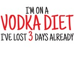 I'm on a vodka diet