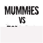 mummies vs zombies