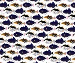 Four Pacific Triggerfish Pattern