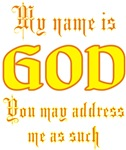 My Name Is God