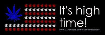 High Time Cannabis Flag