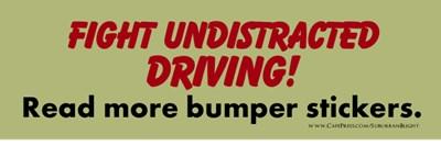 Stop Undistracted Driving!