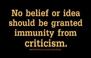Belief Immunity Criticism
