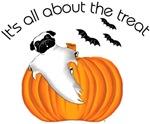 Halloween Pug Ghost