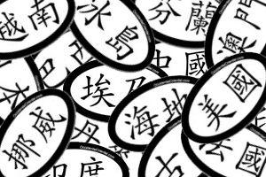 Chinese Euro Stickers