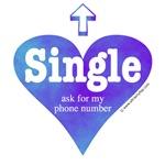 Single (Blue Violet)