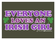 Everyone Loves An Irish Girl Pink