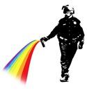 rainbow spray cop