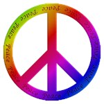 Colorful Peace Sign