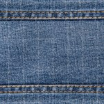 Faded Blue Denim A (Horizontal)