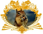 Squirrel Artwork Crest