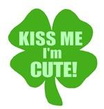Kiss Me I'm Cute Four Leaf Clover
