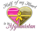 Half of my heart is in Afghanistan