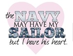 The Navy may have my Sailor, I have his heart