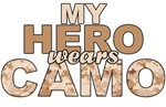 My Hero Wears Camo. USMC