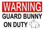 Guard Bunny On Duty