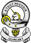 OLIPHANT 2 Coat of Arms