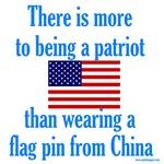 Flag Pin Patriot