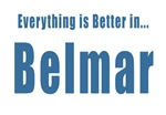 Better in Belmar NJ  T-shirts Souvenirs