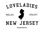 Loveladies (NJ) New Jersey T-shirts