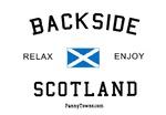 Backside Scotland Funny Tees