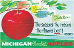 Vintage Michigan Apple Seasons