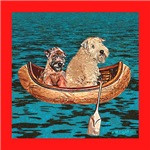 WHEATEN TERRIER: NIGHTTIME CANOE RIDE