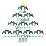 WHEATEN TERRIER: WHEATEN TERRIER CHRISTMAS TREE