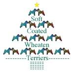 WHEATEN TERRIER: WHEATEN TERRIER CHRISTMAS TREE