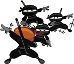Ninja Barista Fighting