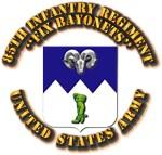 COA - Infantry - 85th Infantry Regiment