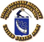 COA - Infantry - 181st Infantry Regiment
