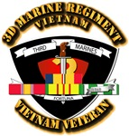 3rd Marine Regiment w VN SVC