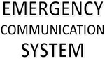 Emergency Communication System - Black